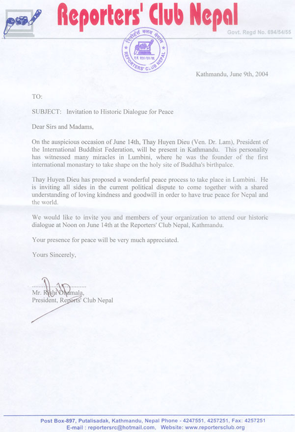 Nepal peace is at hand i request of those whove received this letter to please copy and deliver it to the leaders and members of the maoist party thank you very much for your stopboris Choice Image